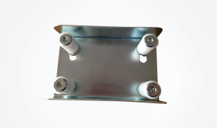 Top Guide Plate with 4 Rollers